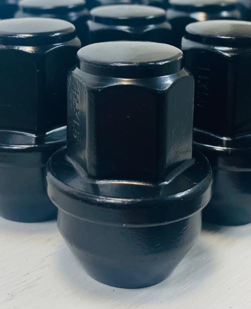 New Set of 24 2015-2021 Ford F-150 Black Lug Nuts