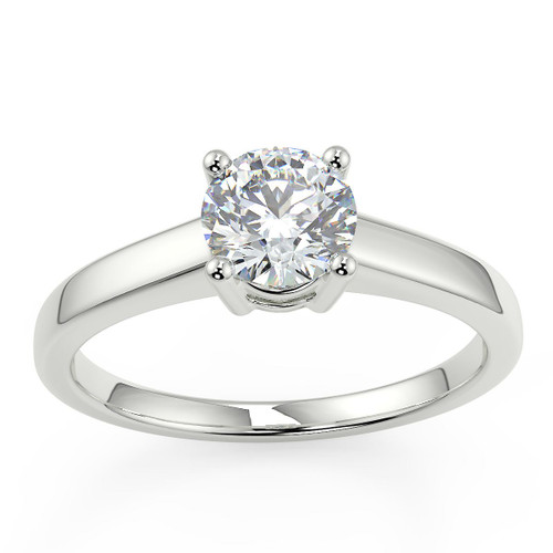 White Gold Ladies Rings - Choice of natural diamonds in various sizes
