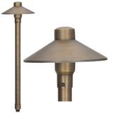 Low Voltage Brass Pathway Light