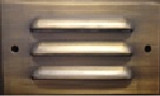 Low Voltage Built-in Brass LED Step Light