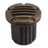Low Voltage Well Light Adjustable Bracket in Antique Bronze