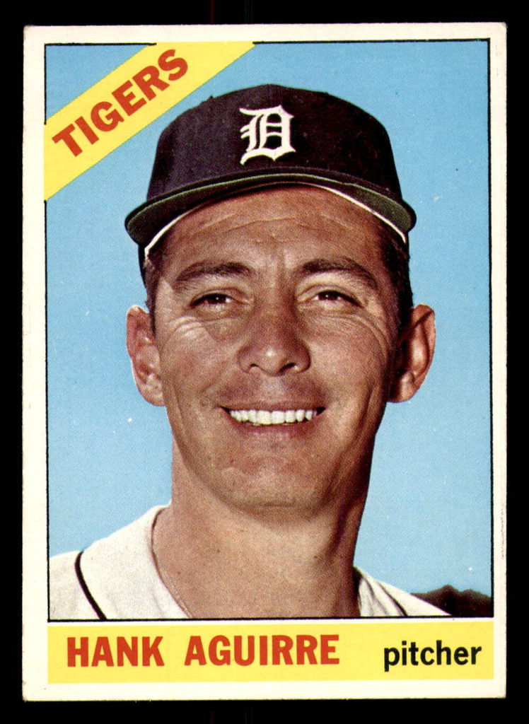 1966 Topps #113 Hank Aguirre Excellent
