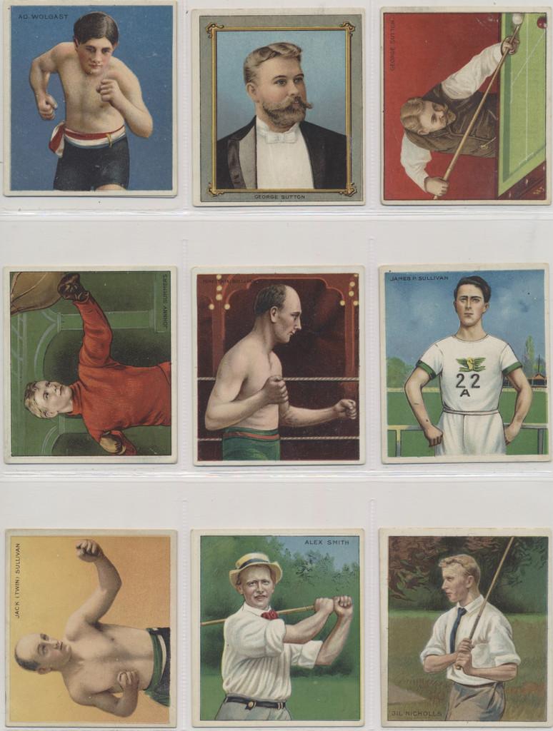 1910 T218 Champions Set 153  #*# BEST SET