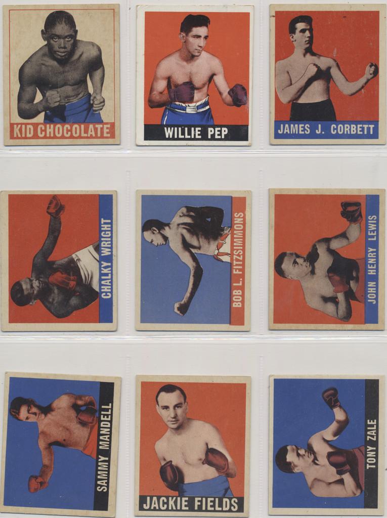 1948 Leaf Boxing Set (49) Mid Grade   #*