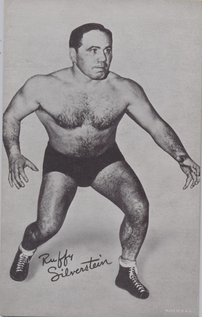 1947/66 Wrestling Exhibits Ruffy Silvetstein  #*
