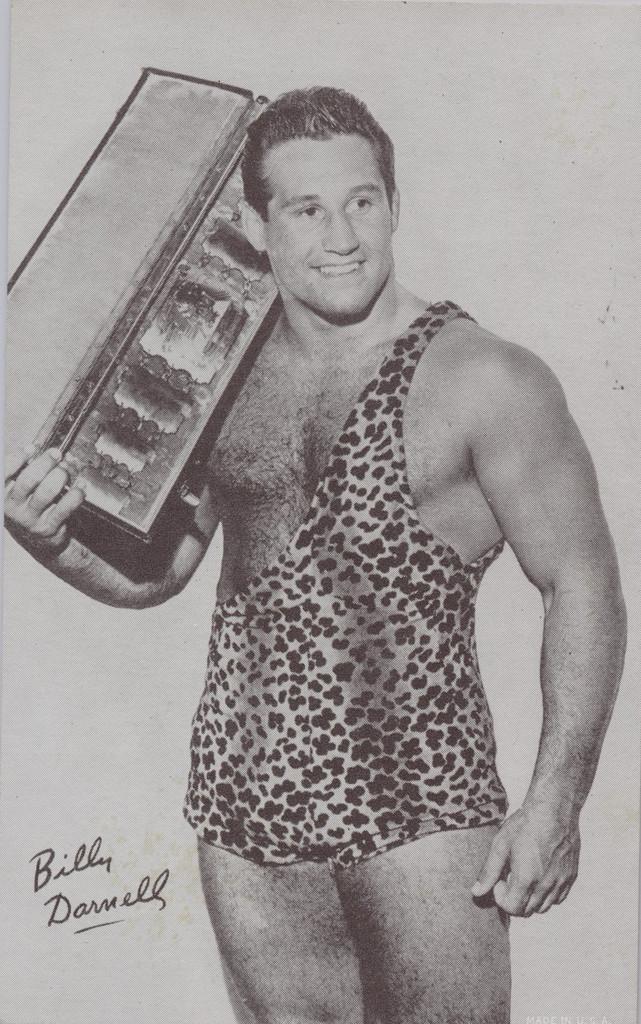 1947/66 Wrestling Exhibits Billy Darnell  #*