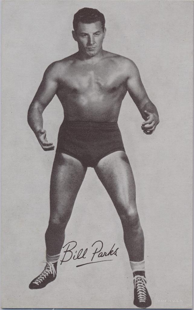 1947/66 Wrestling Exhibits Bill Parks  #*