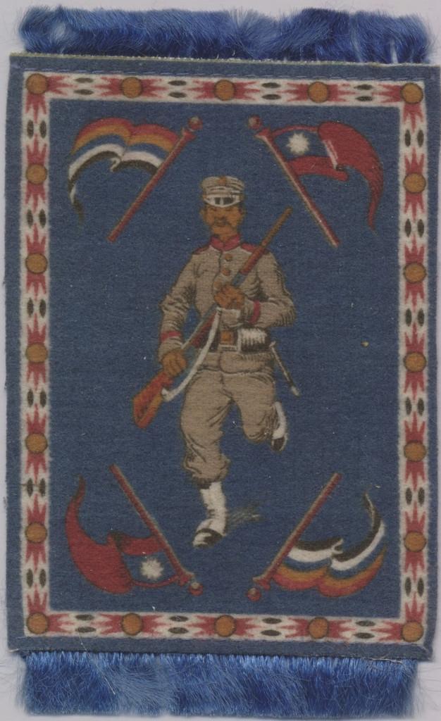 1912-1915 B34 Military Series Felts Lot 1   #*