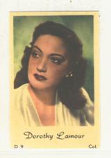 1952 Film Stars D1 D 9 Maple Leaf Holland Dorothy Lamour