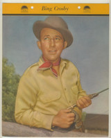 1952 Dixie Premiums F5-18-06 Bing Crosby  8 By 10 Inches Color Photo