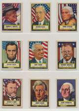"""1952 Topps Look N See Set 135 W Red Magic Paper  """""""""""