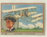 1952 Jacques Belgium Aviation Series #62 Wilbur Wright Ex-Mt