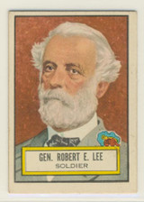 1952 Topps Look N See #34 General Robert E. Lee