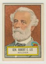 1952 Topps Look N See #34 General Robert E. Lee  #*