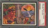"1954 U.S. NAVAL VICTORIES #42 TIN FISH VICTORY ... PSA 5 EX  """""