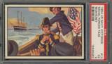 "1954 U.S. NAVAL VICTORIES #13 NAVAL FORCES TAKE MONTEREY ... PSA 5 EX  """""