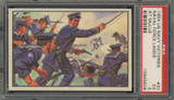 "1954 U.S. NAVAL VICTORIES #30 NAVAL FORCE LANDS AT MULIJE ... PSA 5 EX  """""