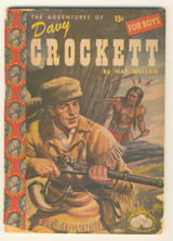 1955 The Adventures Of Davy Crockett by Nat Wilson (64 Pages)  #*