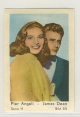 1955 Series H Film Stars #53 James Dean Ex  #*