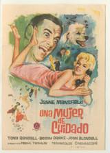 1957 Film Poster Cina Napoles, Spain Will Success Spoil Rock Hunter? Jayne Mansfield