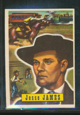 1956 Topps Round Up #51 Jesse James