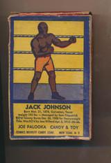 "1958 R427 Joe Palooka R427 Jack Johnson Complete Box With Toy """""