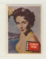 1957 Topps Hit Stars #85 Elizabeth Taylor Ex-Mt ++