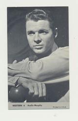 """1960 Nu-Card Western #6 Audie Murphy  """""""""""
