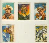"1960 Hueso Chocolates Spain Heroes Of Legend  Buffalo Bill Nr-Mt (Lot Of 5)   """""