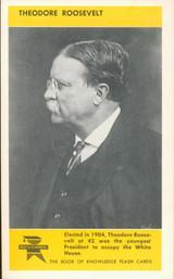1960 ED-U-CARD THEODORE ROOSEVELT