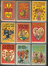 1959 Topps Funny Valentines Series 1 Set 66 Low Grade   #*