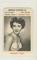 1960s American Filmstars  Elizabeth Taylor Nr-Mt