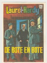 1960s Film Poster Laurel & Hardy (Spain) Ex-Mt