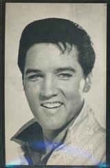 1960's Exhibit Card Elvis Presley