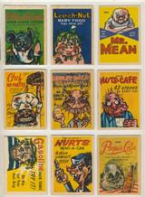 1960'S Leaf Foney's Funnies Ads Set (72) Low Grade   #*