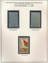 "1963 TOPPS FLAG MIDGEES CARD #55  Malagasy  """""
