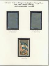 "1963 TOPPS FLAG MIDGEES CARD #63  Nicaragua  """""
