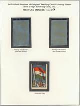 "1963 TOPPS FLAG MIDGEES CARD #64  Niger  """""