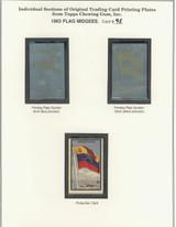 "1963 TOPPS FLAG MIDGEES CARD #95  Venezuela  """""