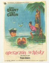 1965 Film Poster Operation Whisky Cary Grant Ex-Mt