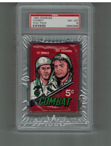 1964 Donruss Combat (2nd Series) 5 Cents Wax Pack PSA 8 NM-MT  #*