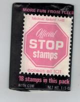 1967 Fleer Official Stop Stamps Unopened 1 Wax Pack  #*