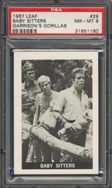"""1967 GARRISON'S GORILLAS #29 Baby Sitters  PSA 8 NM-MT  """""""""""