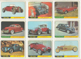 1966 Topps Hot Rods Set 66  """"