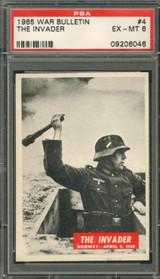 "1965 WAR BULLETIN #4 THE INVADER PSA 6 EX-MT  """""