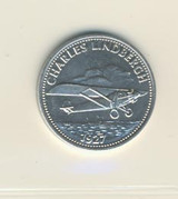 1970 Shell Oil History Of Flights (16) Charles Lindbergh Nr-Mt