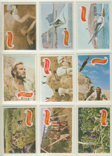 1969 Topps Planet Of The Apes Set (44) Set #1  """"