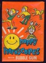 """1972 Happy Horoscopes Wax Pack  """""""""""