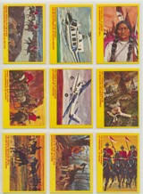"""1972 OPC Royal Canadian Mounted Police Cards Set 55  """""""""""