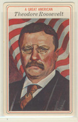 1975 Great Americans #24/30 Theodore Roosevelt Nr-Mt